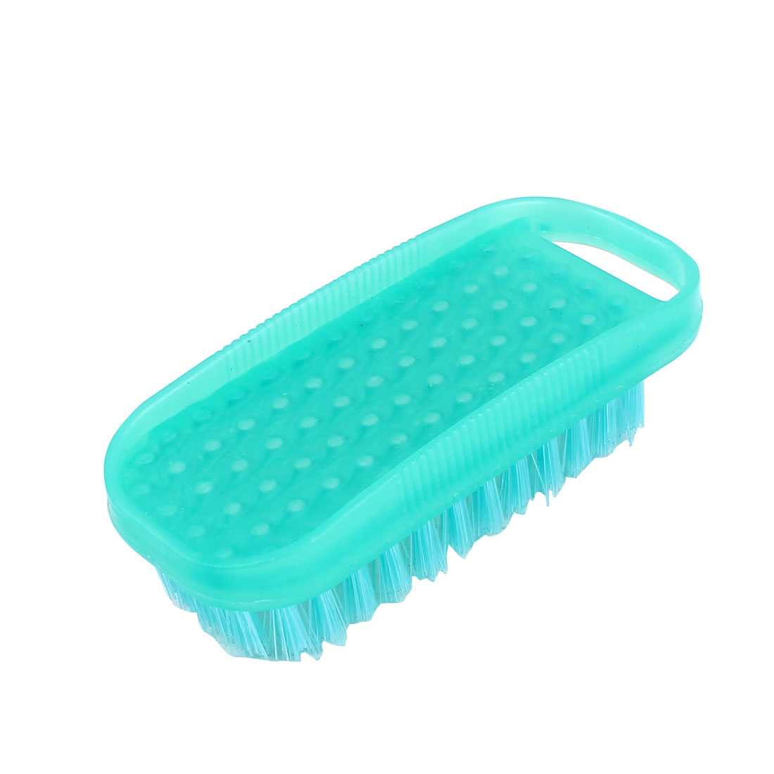 Household Home Laundry Clothes Shoes Plastic Scrubbing Brush 12.5 x 5cm