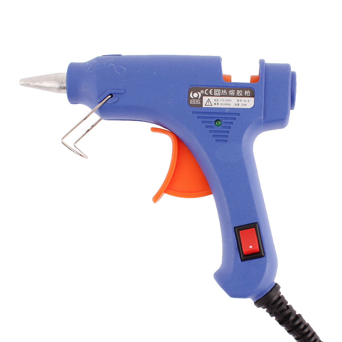 HL-E US Plug 110-240V 50-60Hz 20W Power Electric Heating Hot Melt Glue Gun