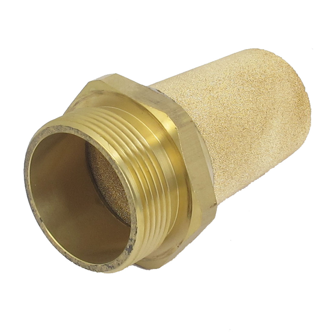 Pneumatic 1 1/2BSP Thread Brass Air Exhaust Noise Reducing Absorb Silencer Muffler