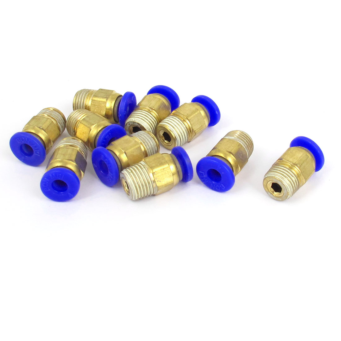 4mm Tube 1/8BSP Male Thread Quick Air Fitting Coupler Connector 10pcs