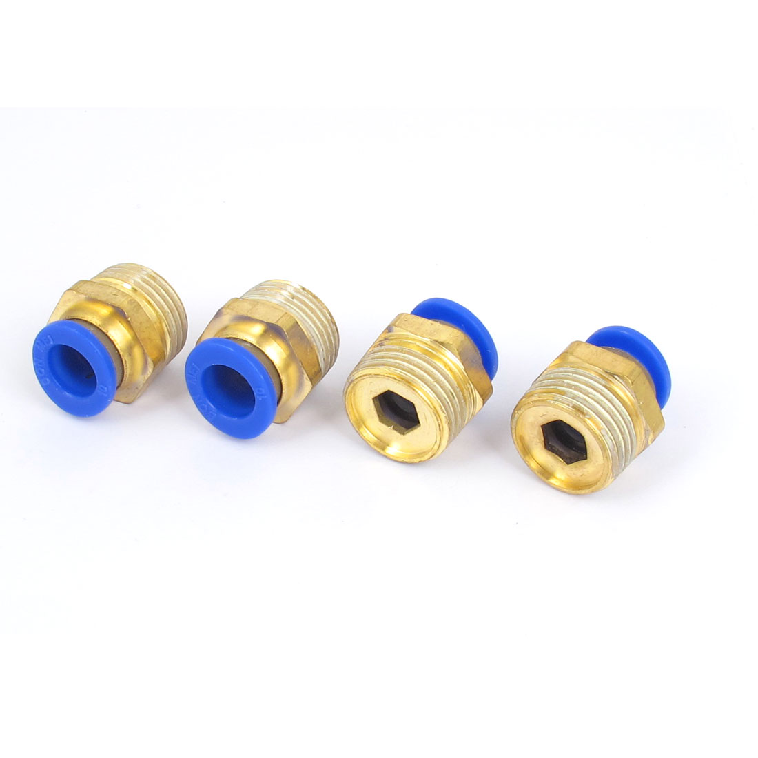 1/2BSP Male Thread Pneumatic Quick Air Fitting Coupler Connector 4pcs