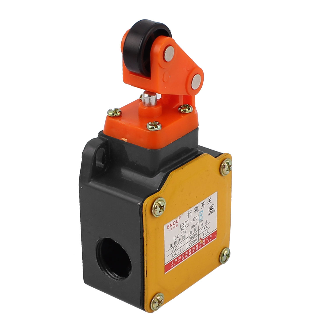 LXP13SE3-100/E DPST 3 Holes Roll Pushbutton Enclosed Limit Switch