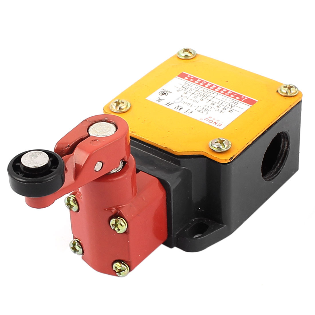 LX139E3-100/G AC 380V 0.8A Rotating Roller Lever Arm Limit Switch