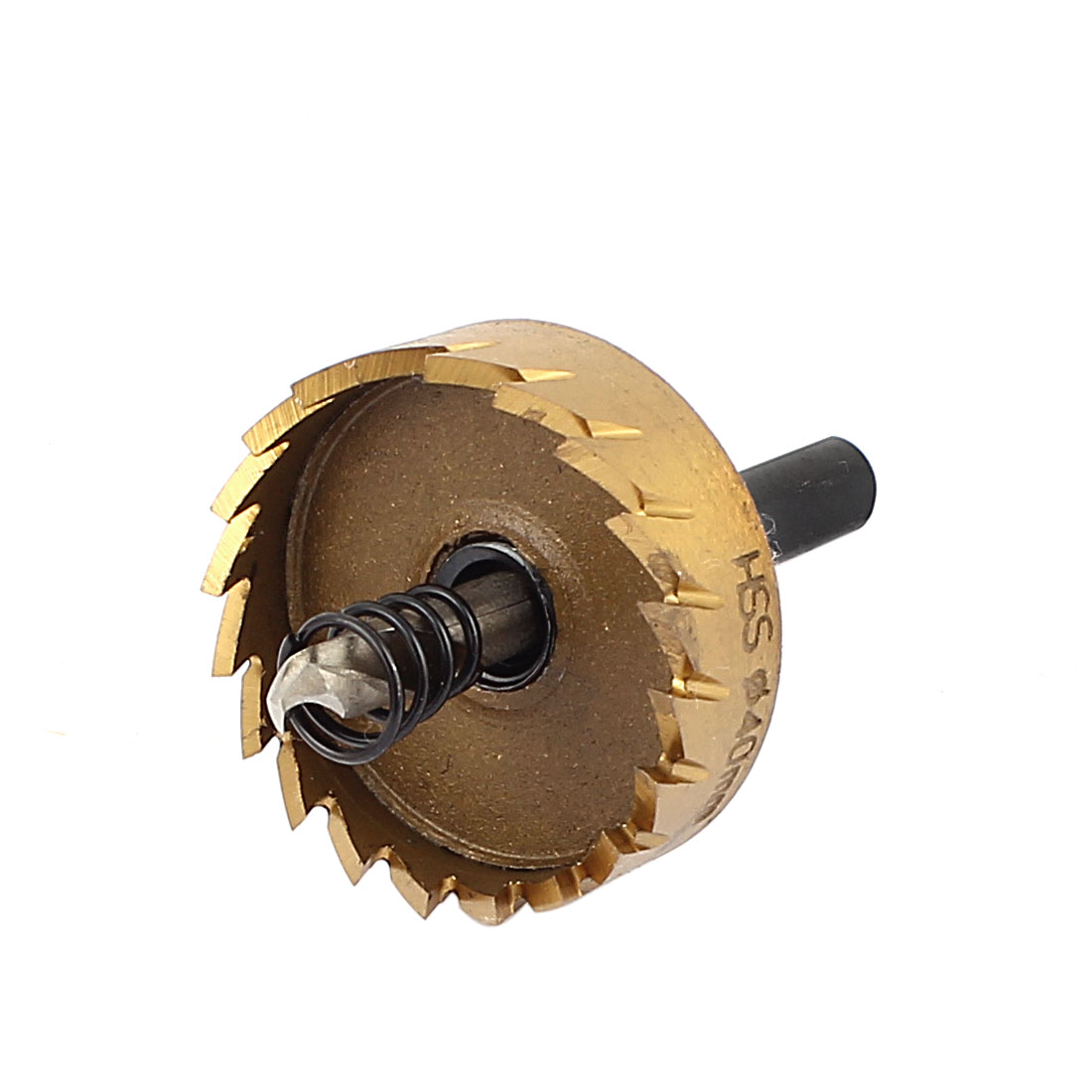 40mm Diameter Rake Teeth Twist Drill Bit Hole Saw with Hex Wrench