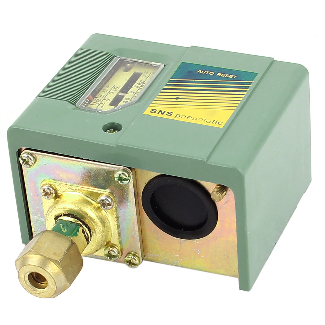 73-435PSI 1-Port Pneumatic Air Water Compressor Pressure Switch Control Valve