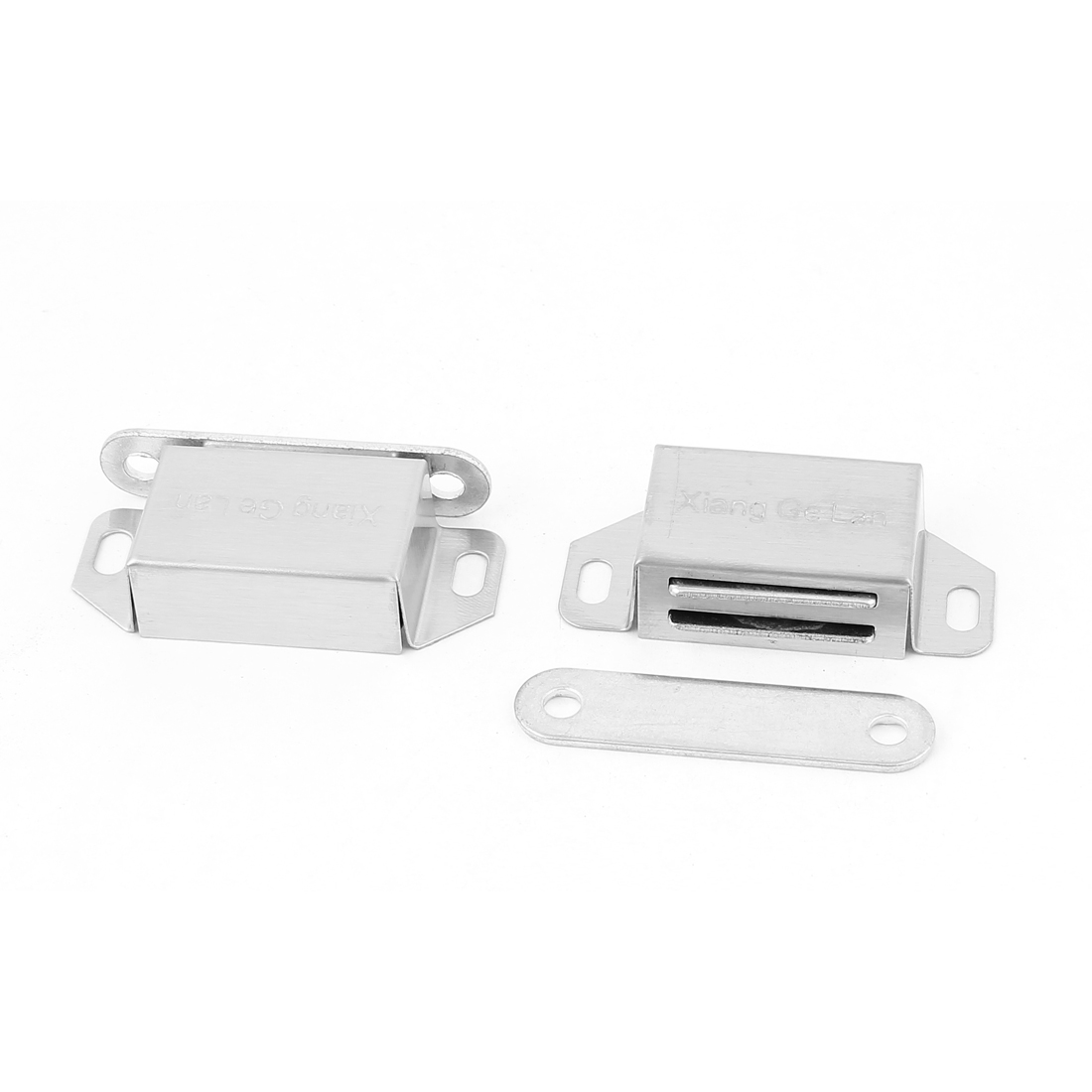 2 Pcs Stainless Steel 56mm Long Catch Latch for Cabinet Cupboard