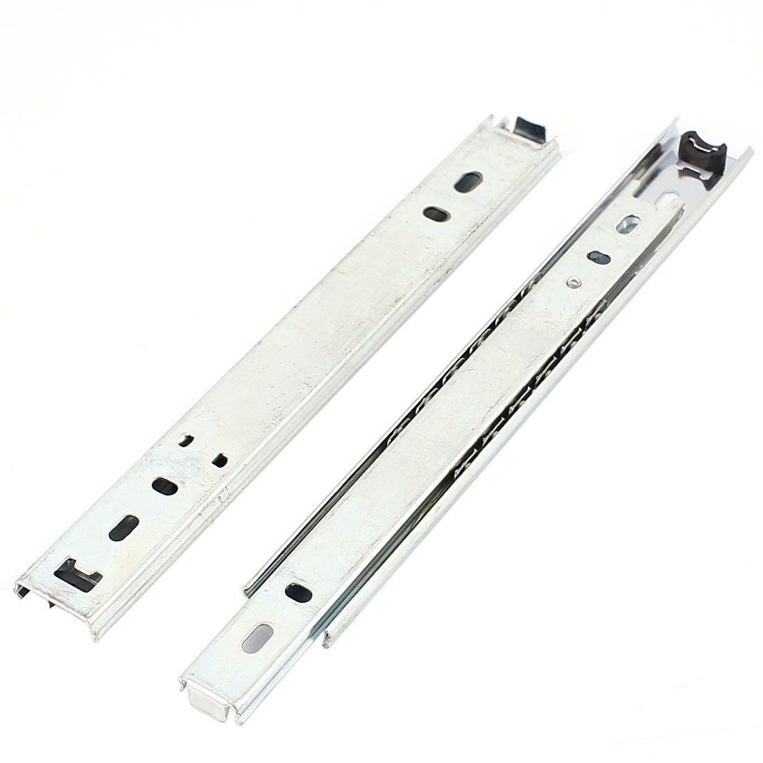 "2 Pcs 8"" Long Ball Bearing Telescopic Furniture Cabinet Drawer Slides"