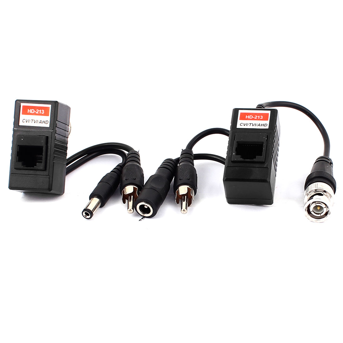 238M Transmission BNC RCA Audio Video Power Balun Adapter Transceiver