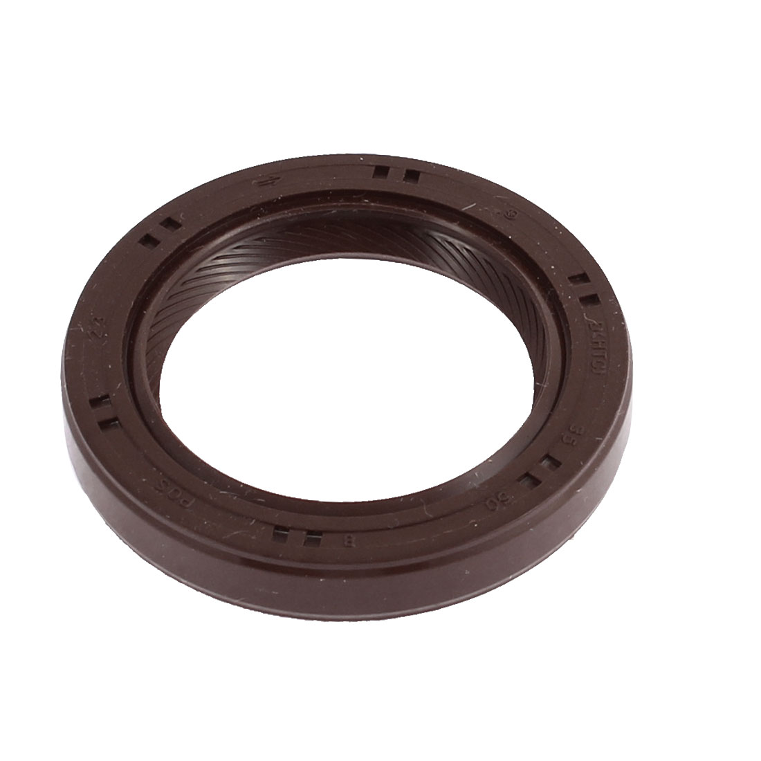 Rubber Oil Seal Ring Gasket Brown 35mm x 50mm x 8mm