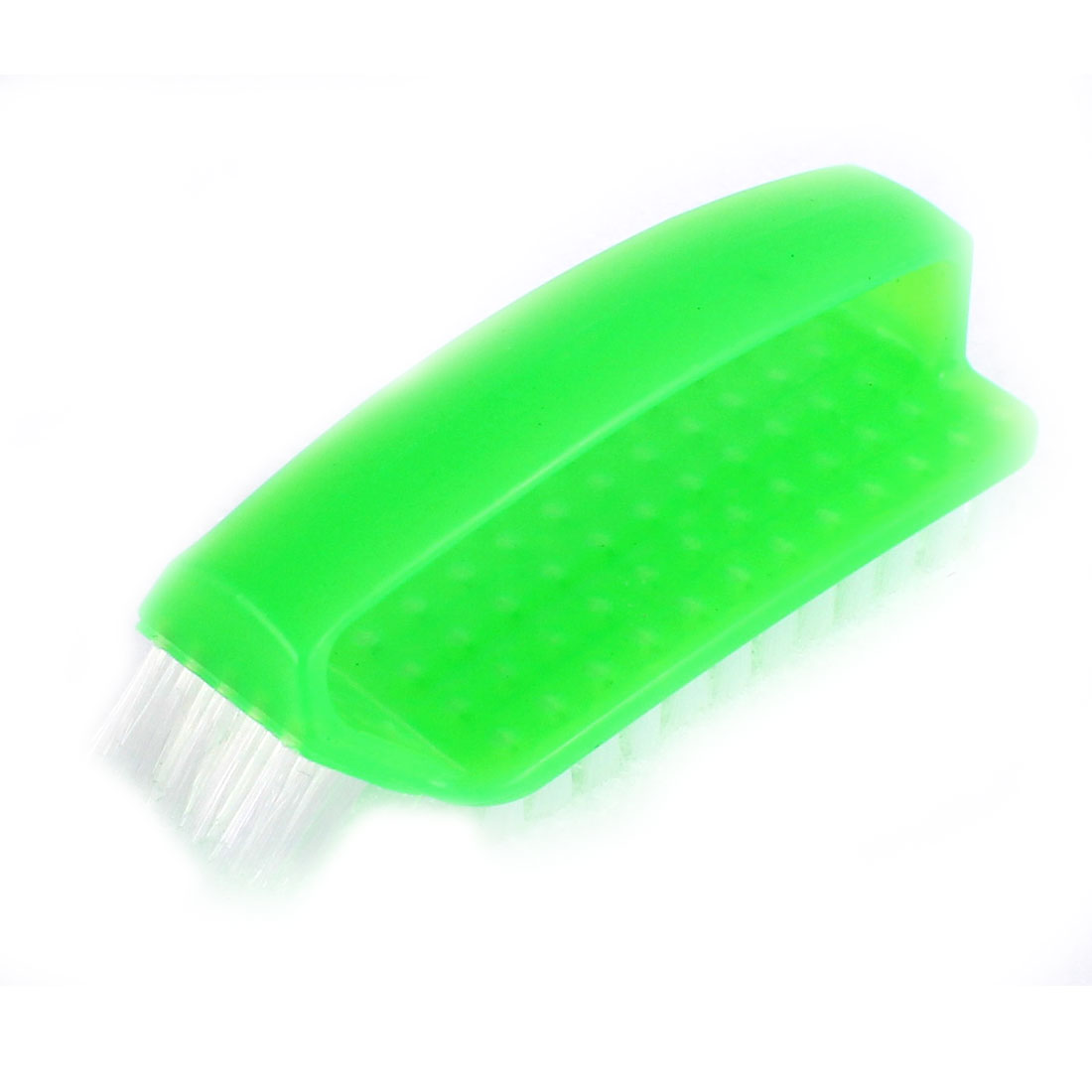 "Clothes Shoes Coat Stain Washing Scrubbing Brush Green 5"" Length"