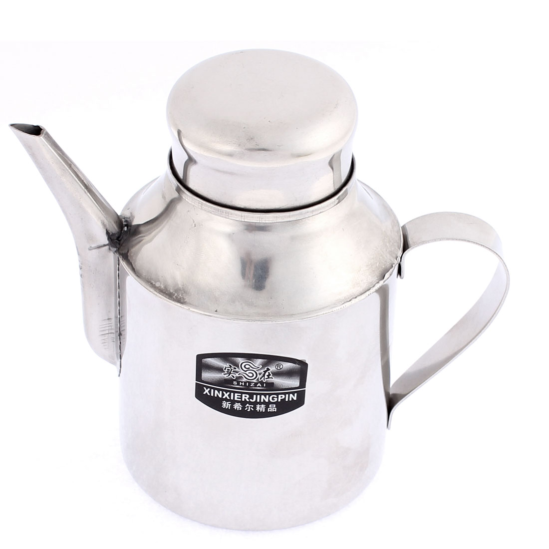 Stainless Steel Liquid Condiment Vinegar Soy Bottle Water Kettle Teakettle 330ml