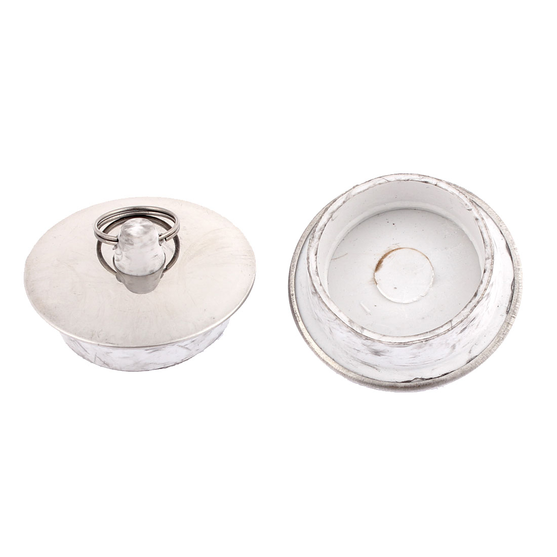 Kitchen Replacement Rubber Sink Garbage Disposal Stoppers Covers 50mm Dia 2pcs