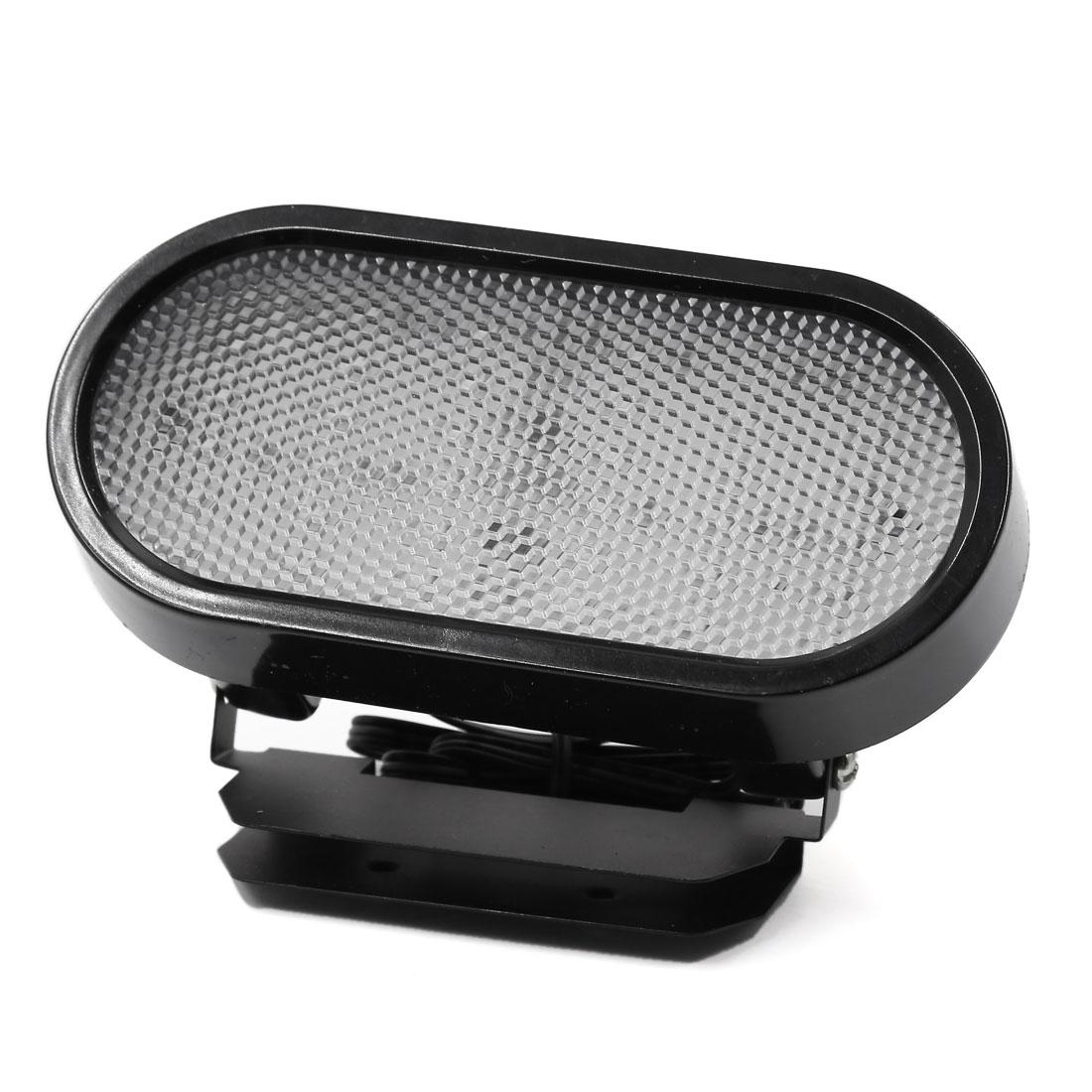 Waterproof Black Plastic Shell Red LED Car Tail Brake Light Stop Parking Lamp