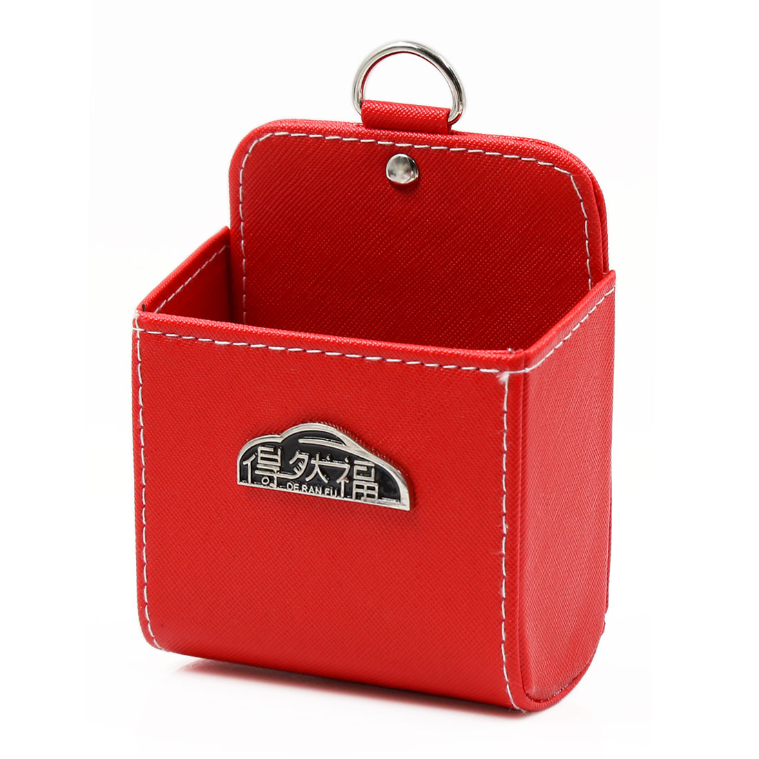 Red Multi-functional Auto Car Supplies Storage Pocket Mobile Phone Pouch Holder