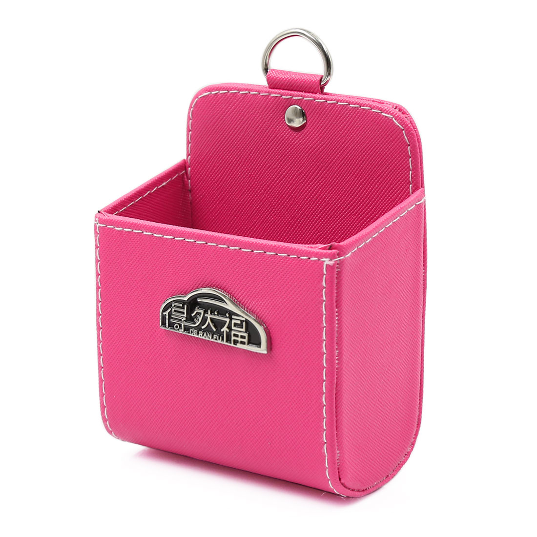 Mini Pink Car Air Vent Supplies Storage Pouch MP3 Mobile Phone Holder Pocket