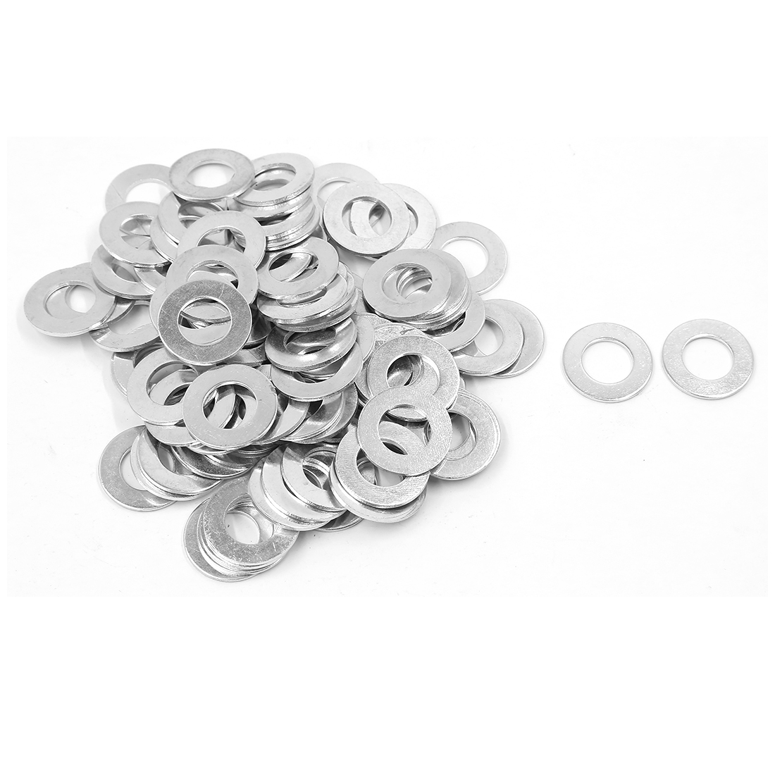 100Pcs M14x28mmx1.6mm Stainless Steel Metric Round Flat Washer for Bolt Screw