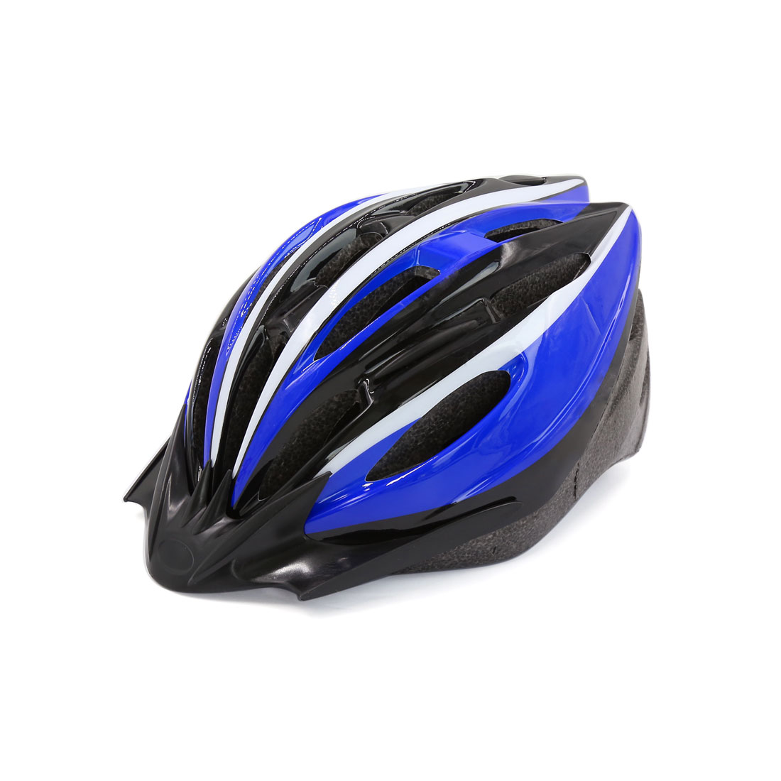 Adult Hollow Design Adjustable Strap Mountain Road Bike Bicycle Helmet Blue