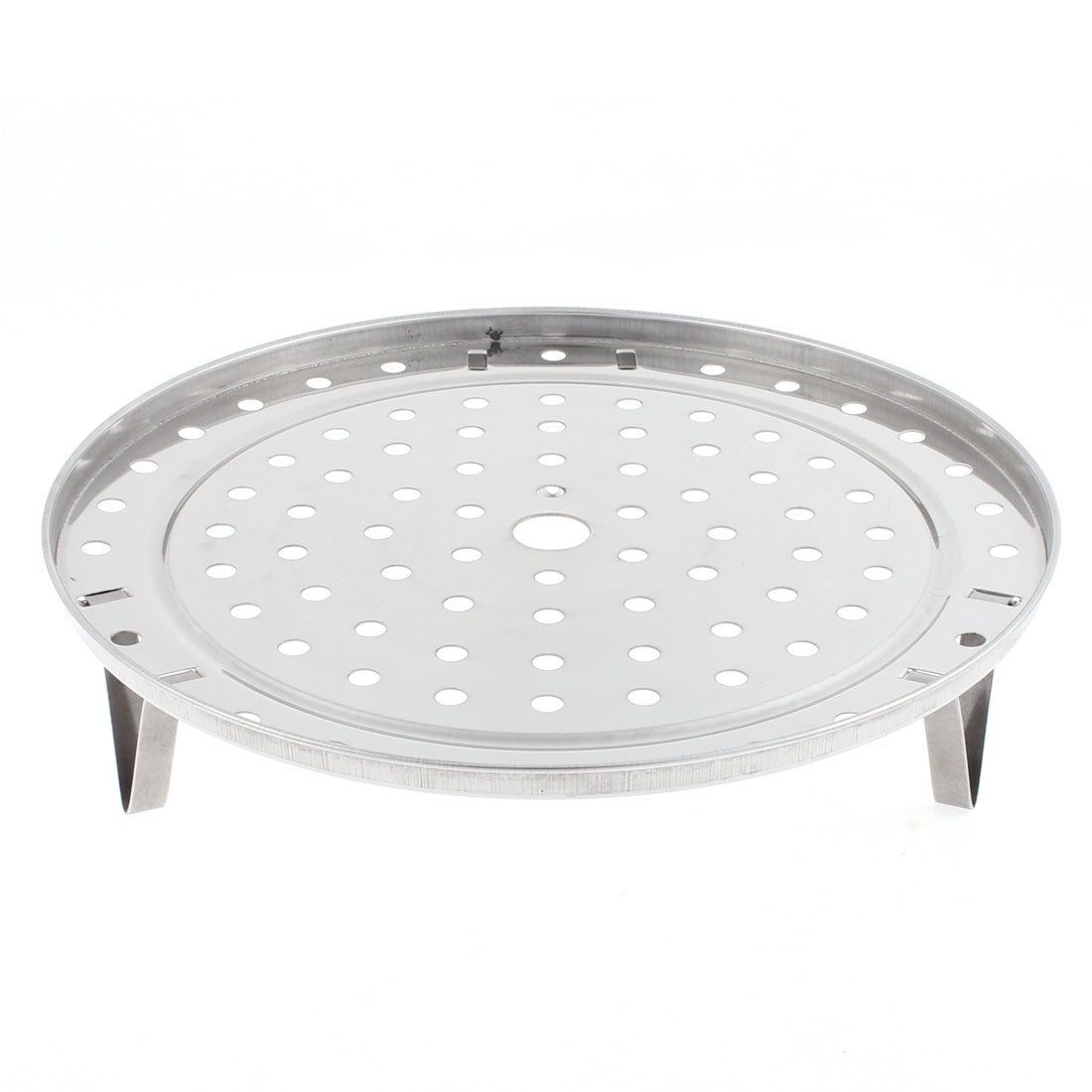 Kitchen Stainless Steel Cooking Food Steamer Rack Plate 275mm Dia 2pcs