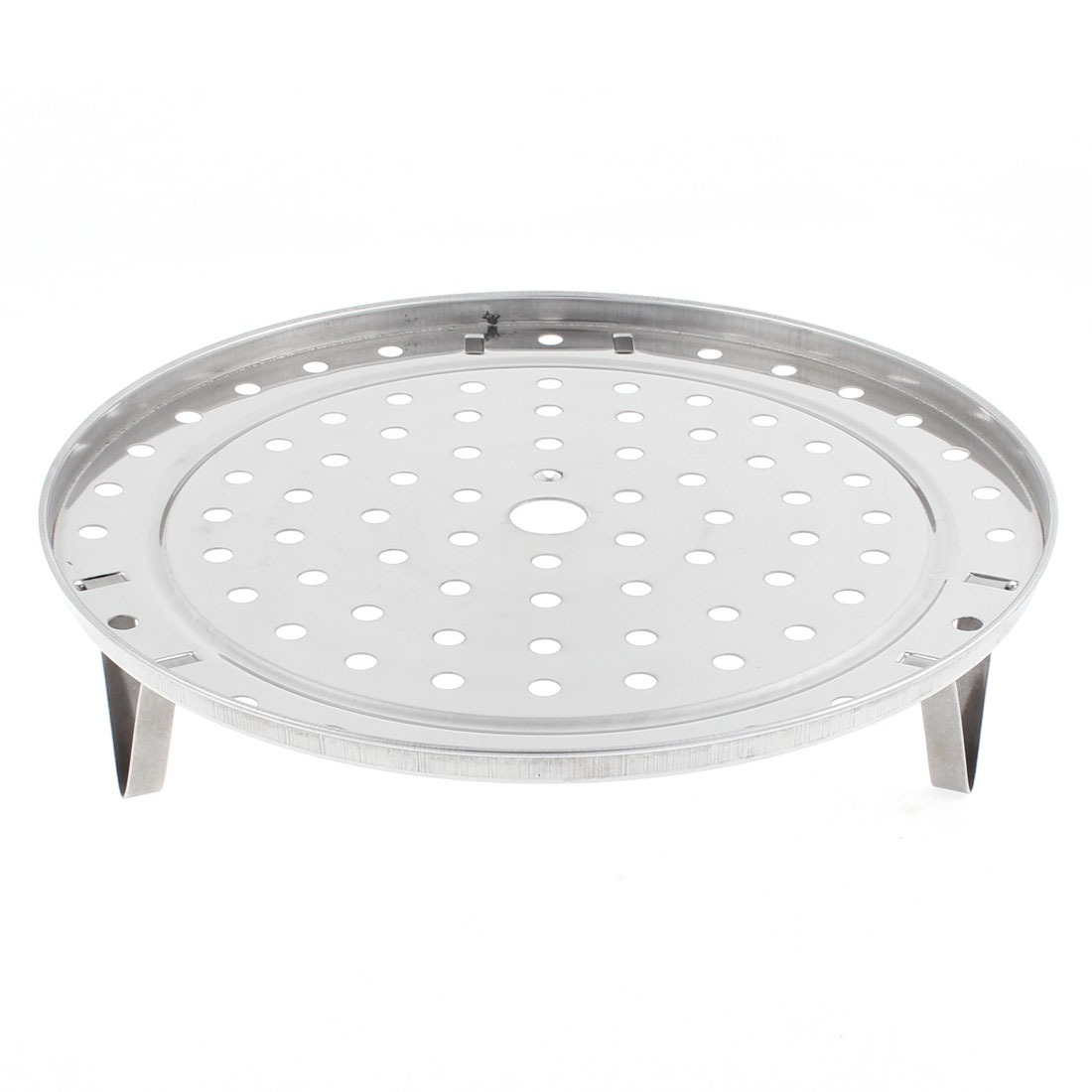 Kitchen Stainless Steel Round Cooking Food Steamer Rack 235mm Dia