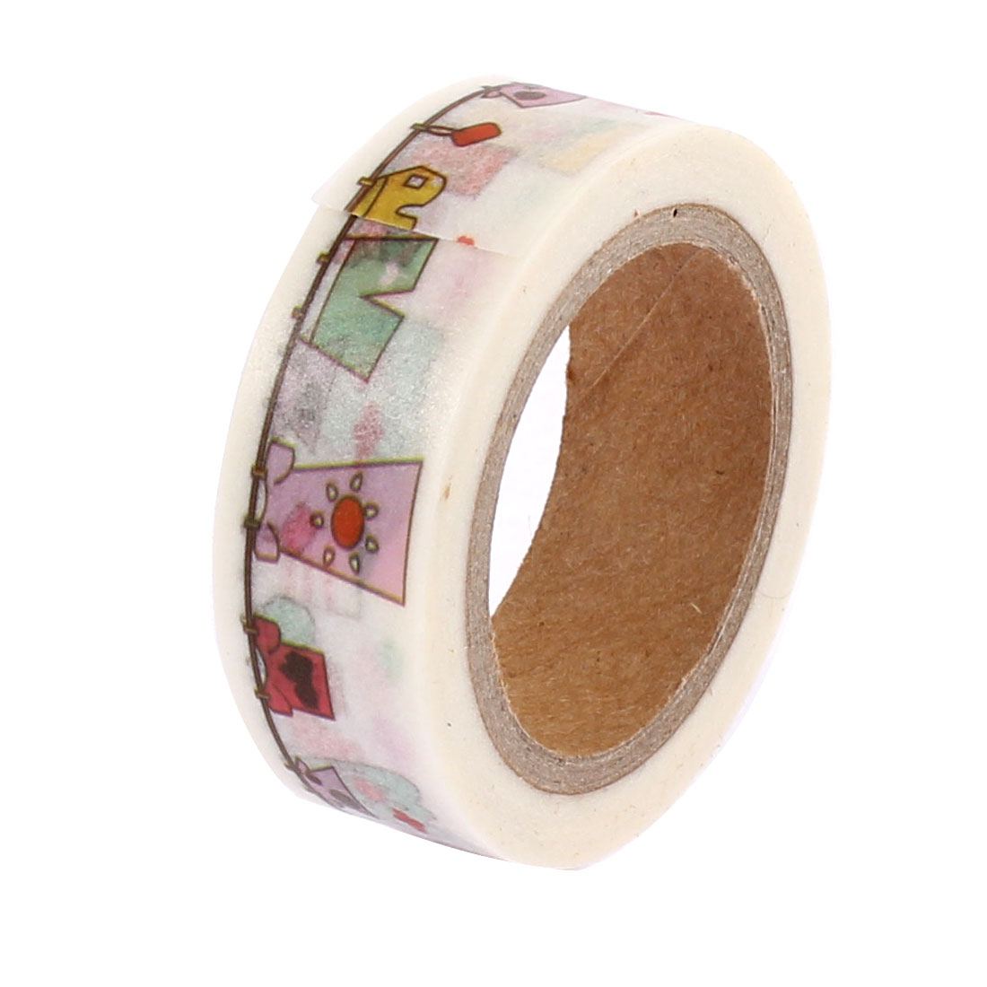 Multicolor Sticky Self Adhesive Decorative Tape Paper Sellotape