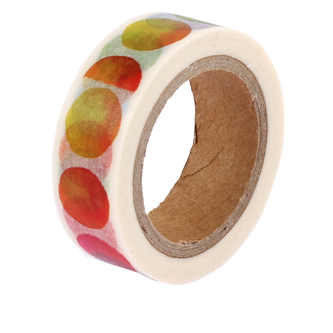 Multicolor Sticky Paper Self Adhesive Decorative Tape Sellotape 15mm Width