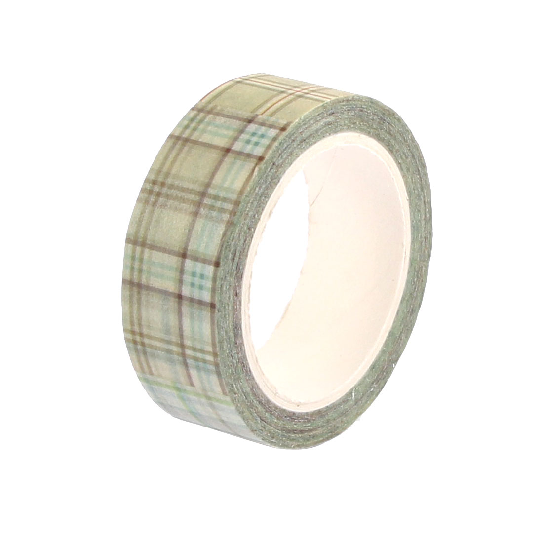 Green Sticky Self Adhesive Decorative Tape Paper Sellotape