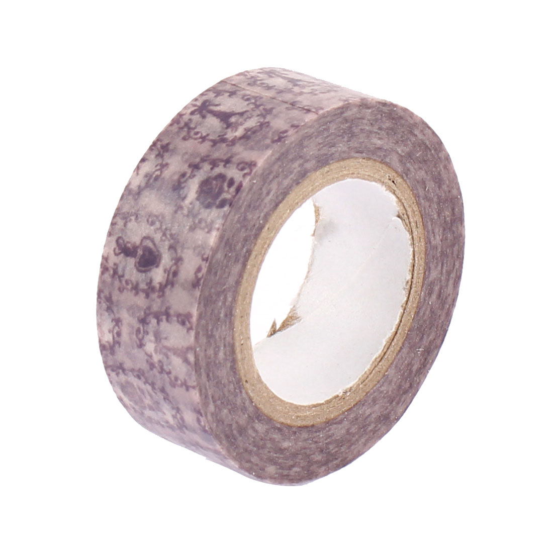 Purple Sticky Paper Self Adhesive Decorative Tape Sellotape