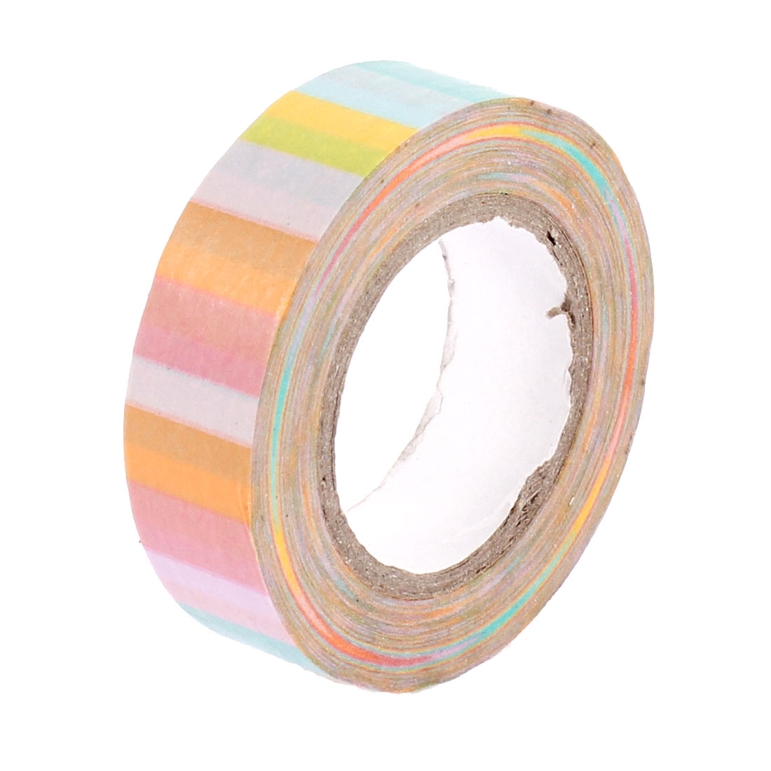 Rainbow Pattern Sticky Paper Self Adhesive Decorative Tape Sellotape