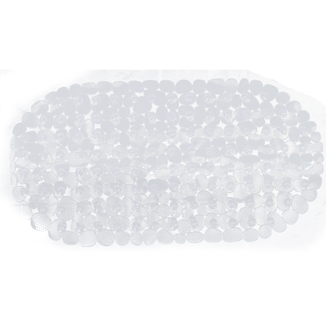 Clear Bathroom Bath Shower Non Slip Suction Cups Mat