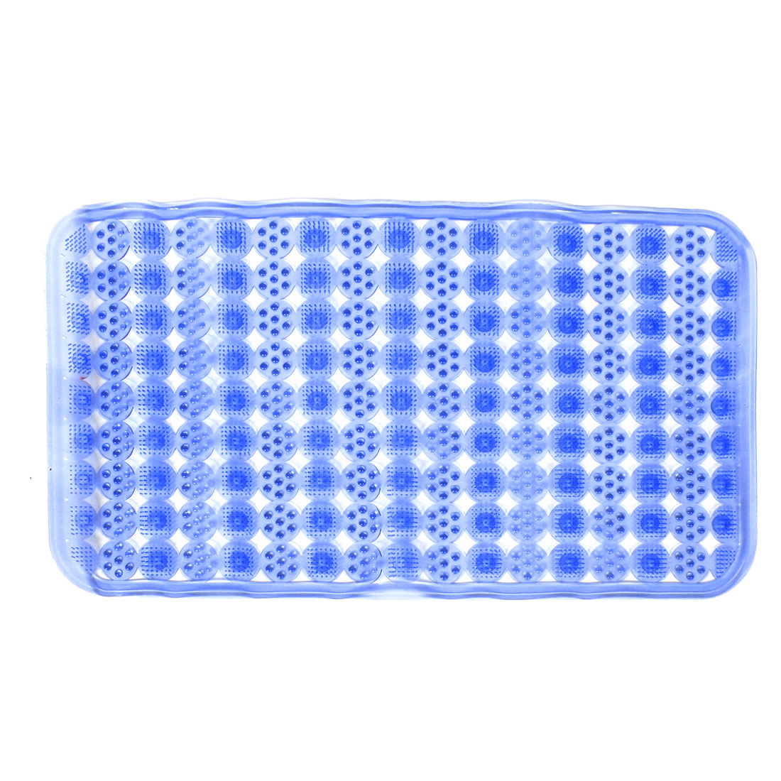 Rectangle Shape Bathroom Bath Shower Non Slip Suction Cups Mat