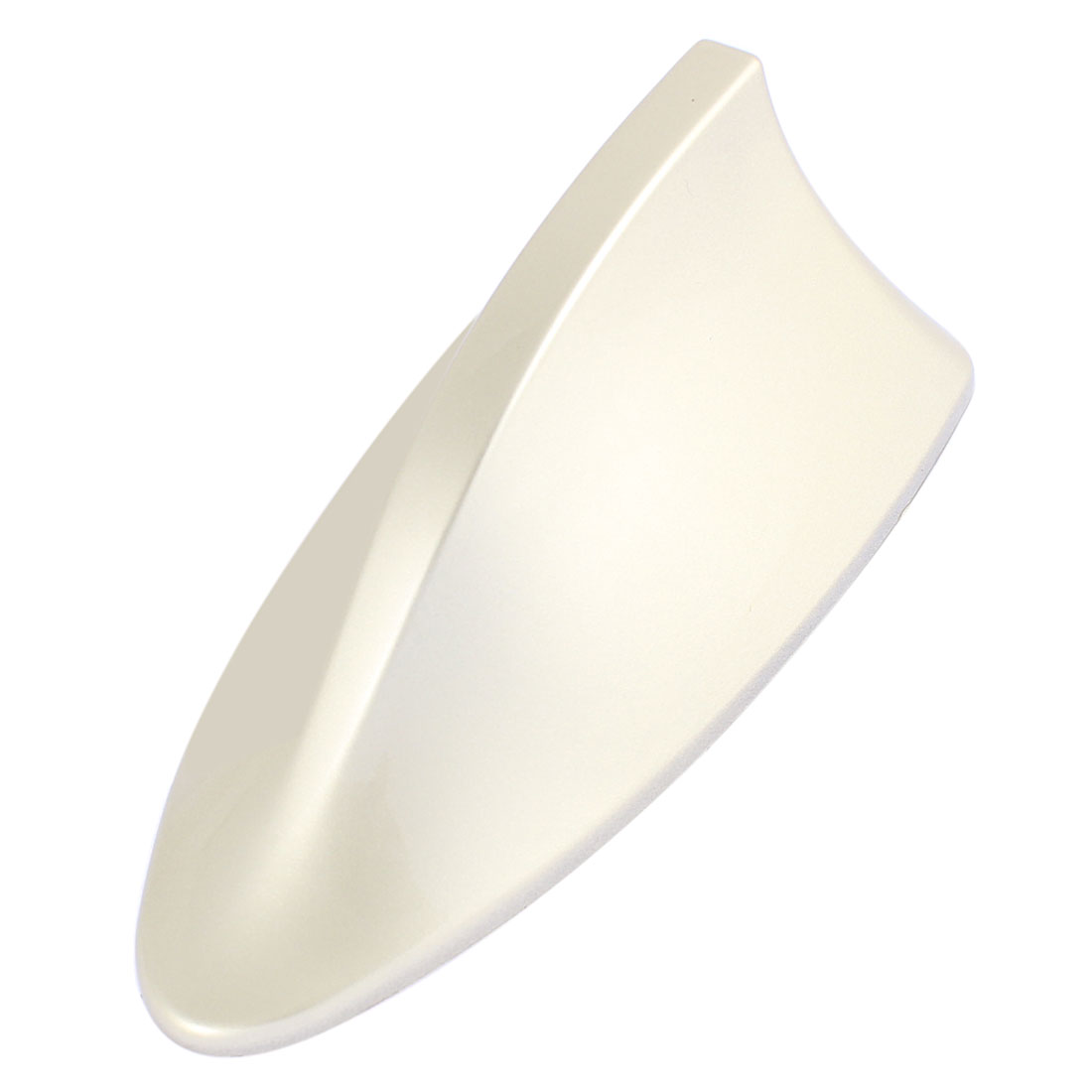 Champagne Color ABS Plastic Car Shark Fin Design Dummy Decorative Antenna
