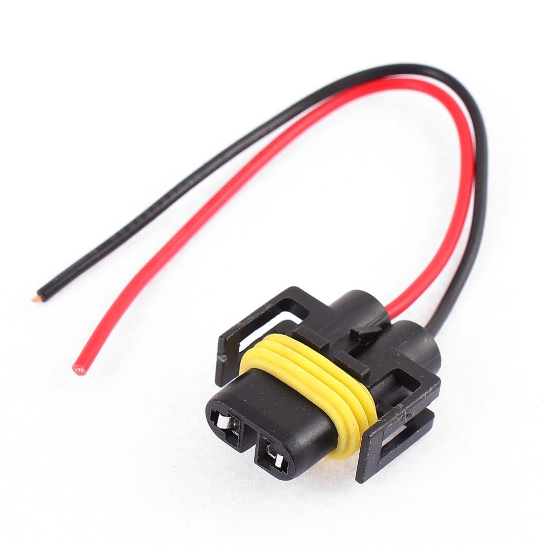 H11 Headlight Fog Light Connector Socket for Automobile