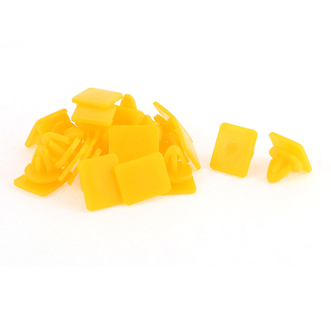20 Pcs Yellow Plastic Bumper Rivet Fender Panel Clips for Hyundai