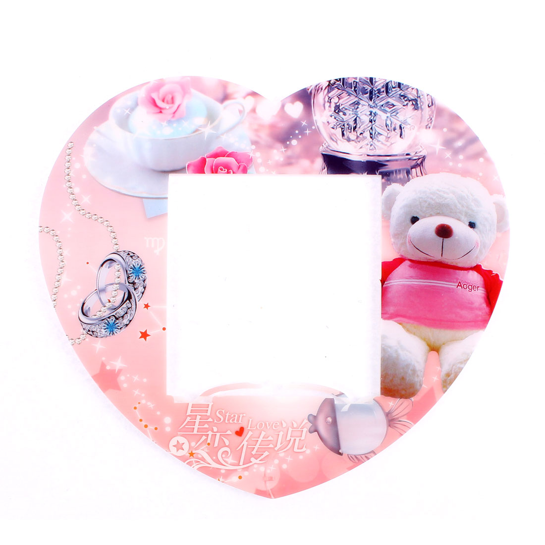 Bear Printed Plastic Switch Stickers Cover Socket Decoration