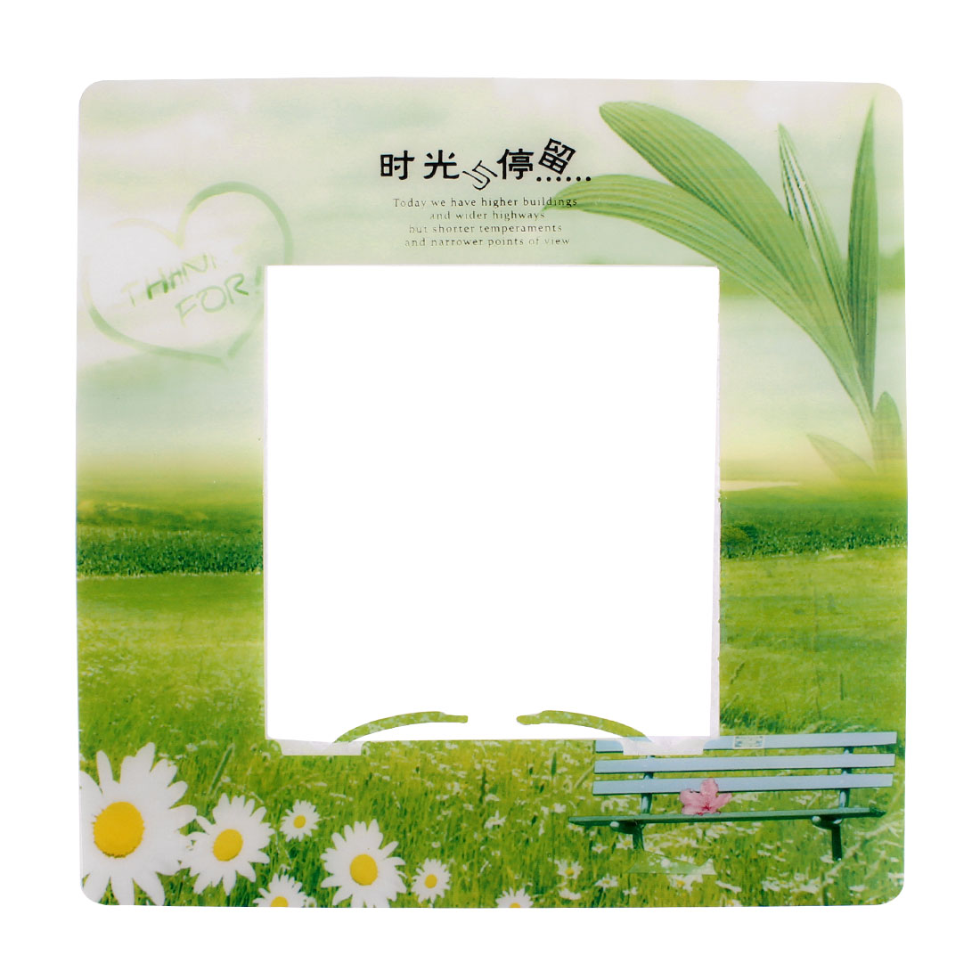 Grass Flowers Pattern Switch Stickers Cover Socket Protector