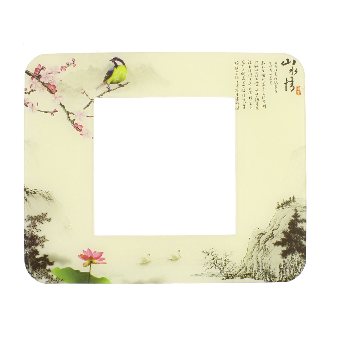 Landscape Painting Printed Switch Sticker Cover Socket Protector