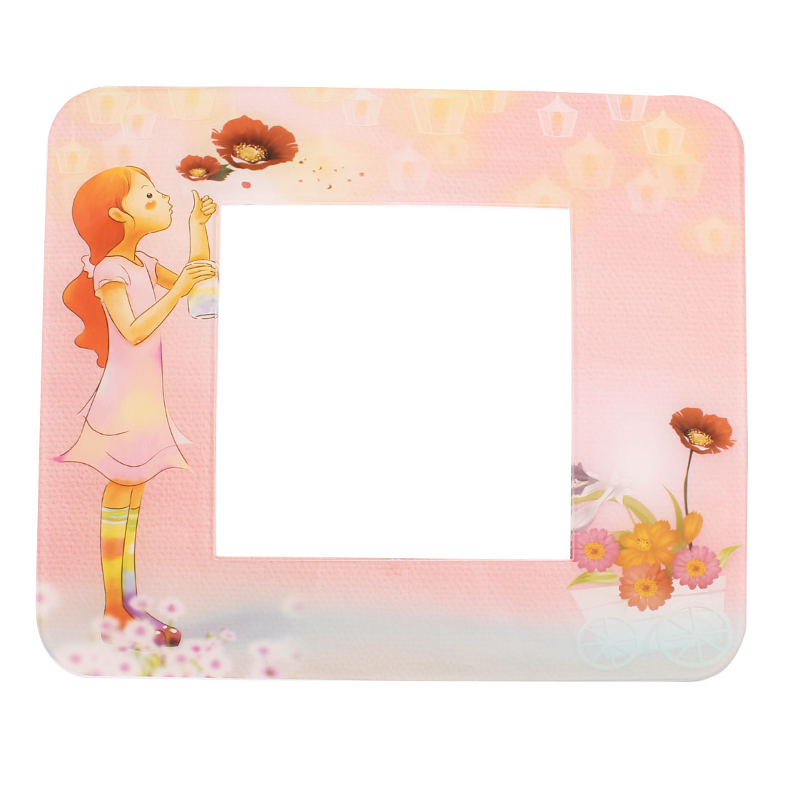 Girl Printed Switch Sticker Socket Protective Cover