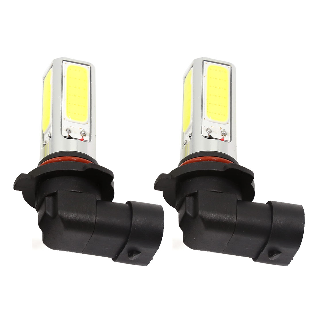 2pcs 9006 HB4 9012 White COB LED Headlight Driving Fog Light Lamp DC 12V 15W