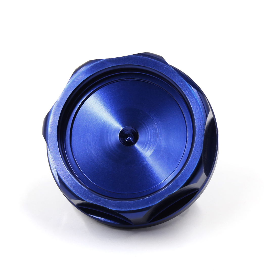 Motorcycle 31mm Thread Dia Aluminum Alloy Engine Oil Filler Fuel Cap Cover Blue for Toyota