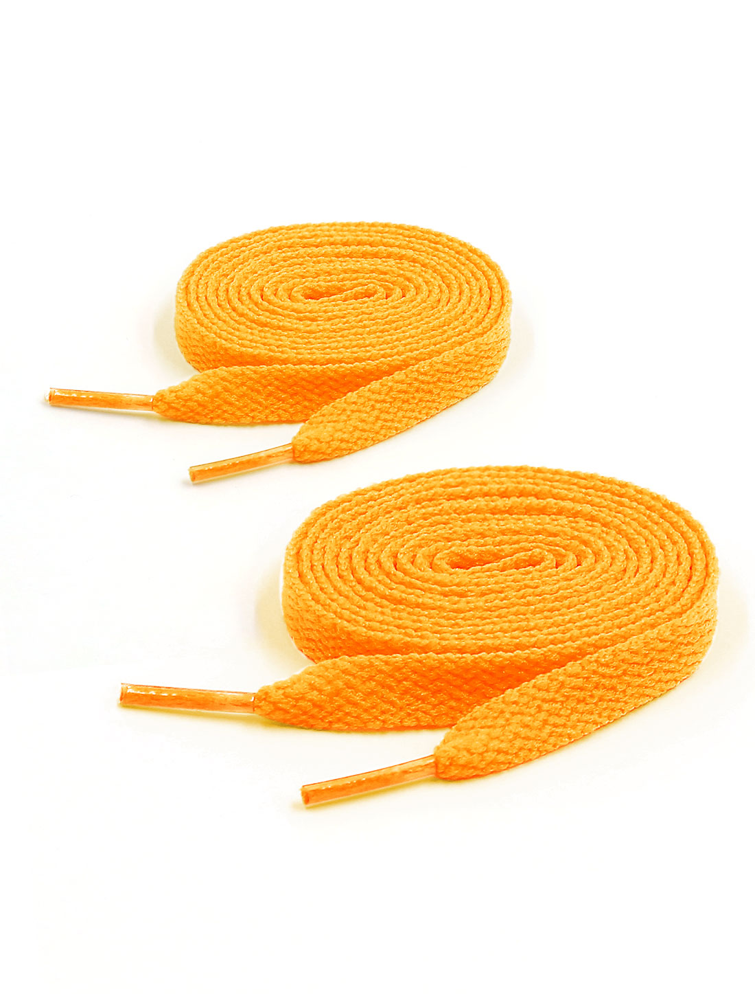 Unisex 123cm Length Sneakers Boots Hiking Athletic Shoelaces 2 Pairs Yellow