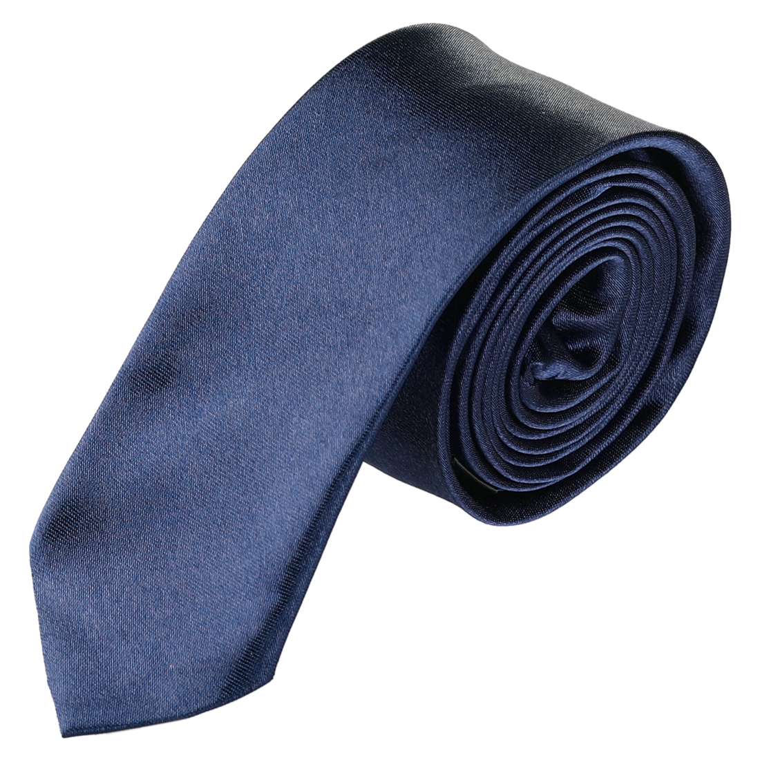 Men Neckwear Bussiness Party Adjustable Clothes Decor Narrow Tie Gray