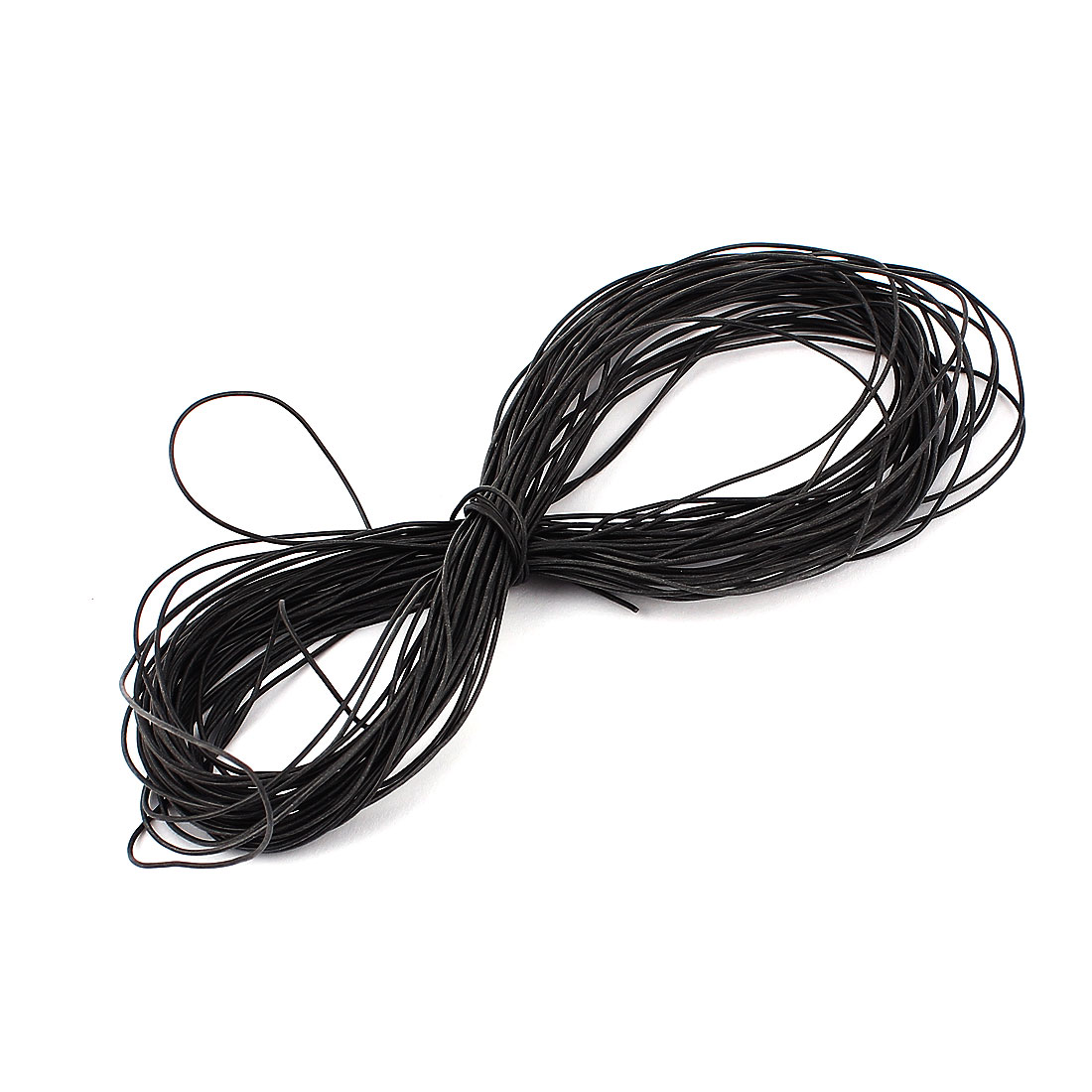 15M 30AWG Electric Copper Core Flexible Silicone Wire Cable Black