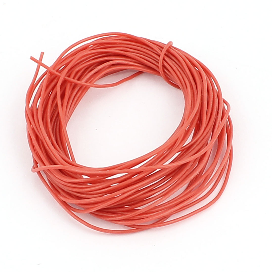5M 30AWG Electric Copper Core Flexible Silicone Wire Cable Red