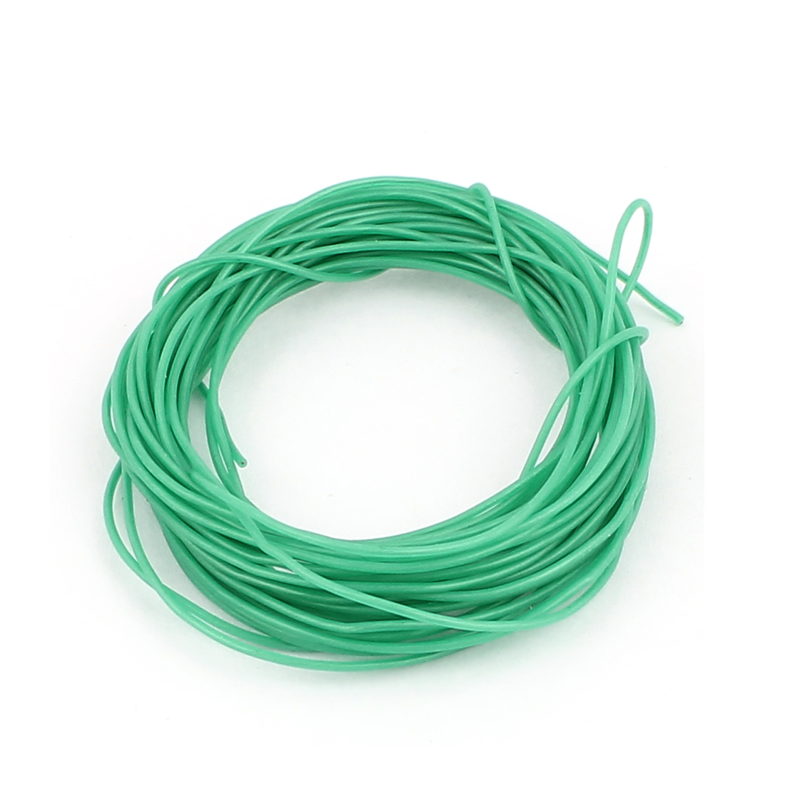5M 30AWG Electric Copper Core Flexible Silicone Wire Cable Green