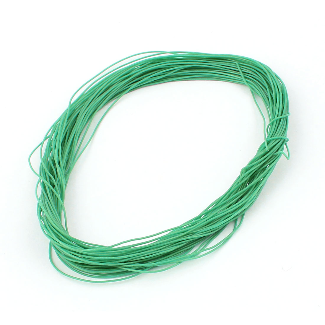 15M 30AWG Electric Copper Core Flexible Silicone Wire Cable Green