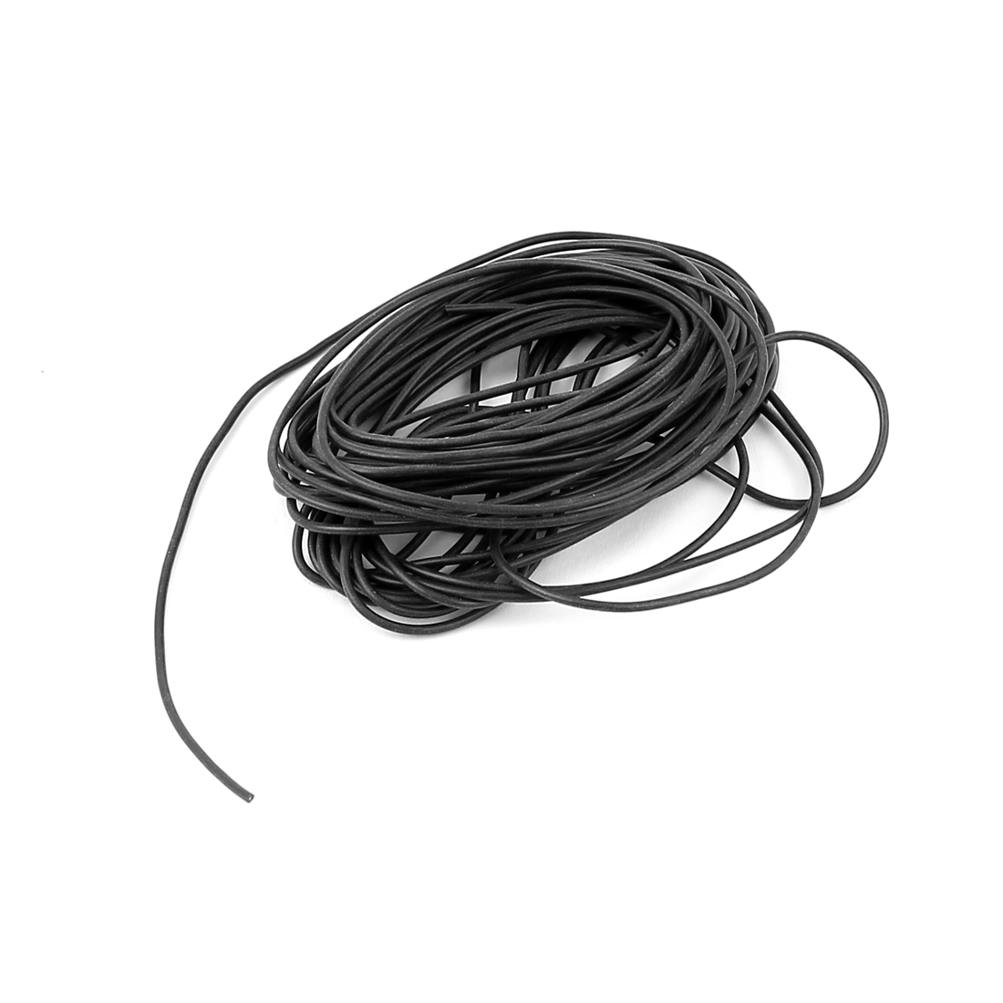 5M 28AWG Electric Copper Core Flexible Silicone Wire Cable Black