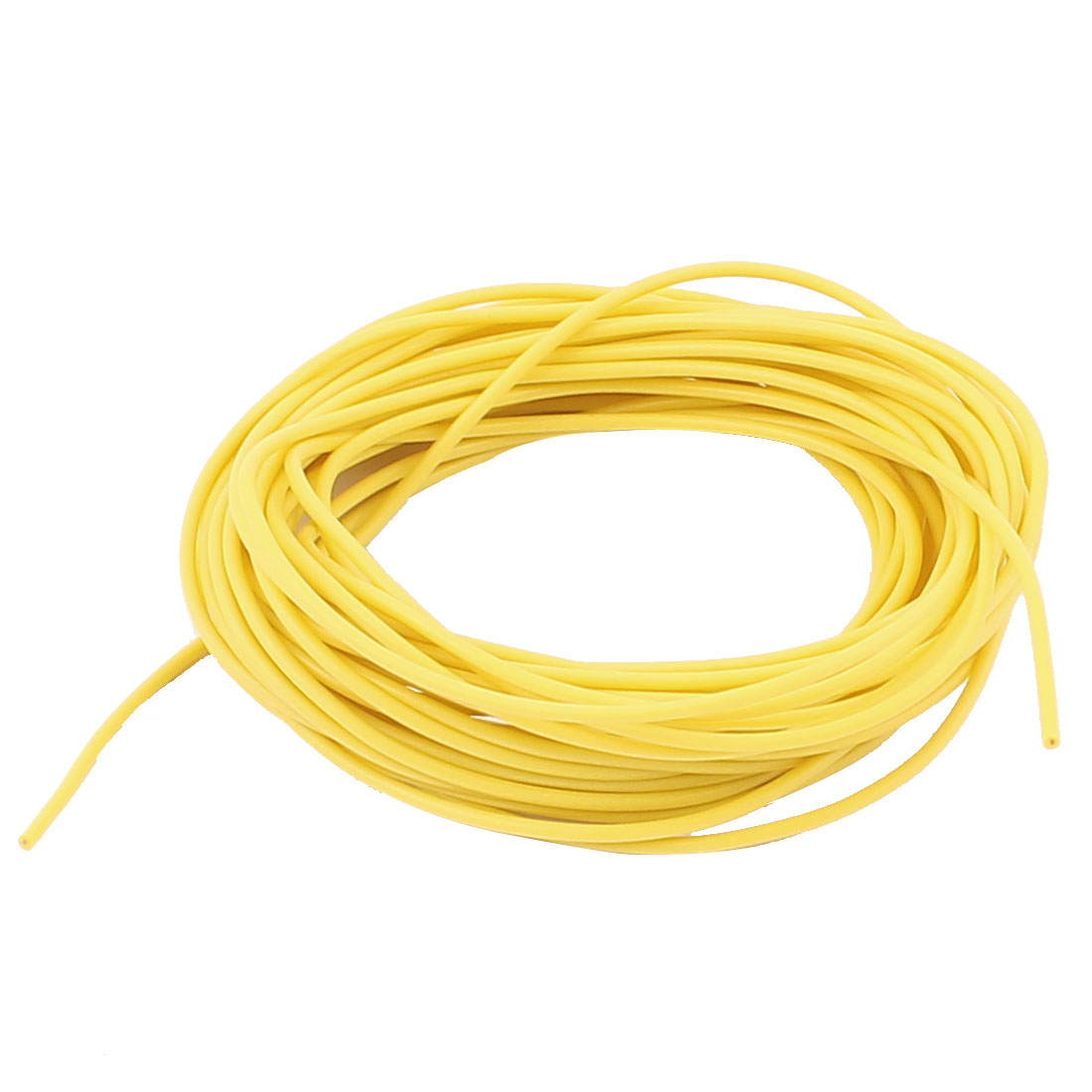5M 28AWG Electric Copper Core Flexible Silicone Wire Cable Yellow