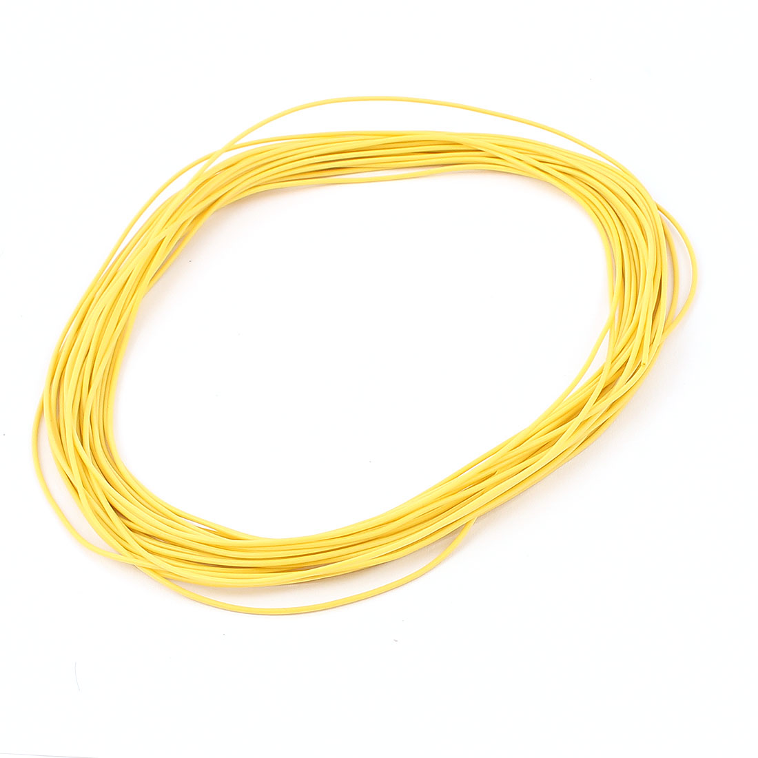 10M 28AWG Electric Copper Core Flexible Silicone Wire Cable Yellow