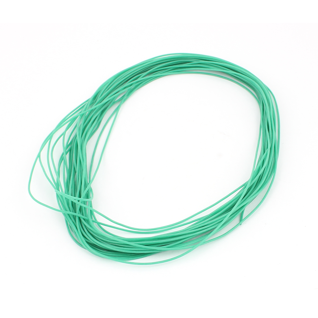 15M 28AWG Electric Copper Core Flexible Silicone Wire Cable Green