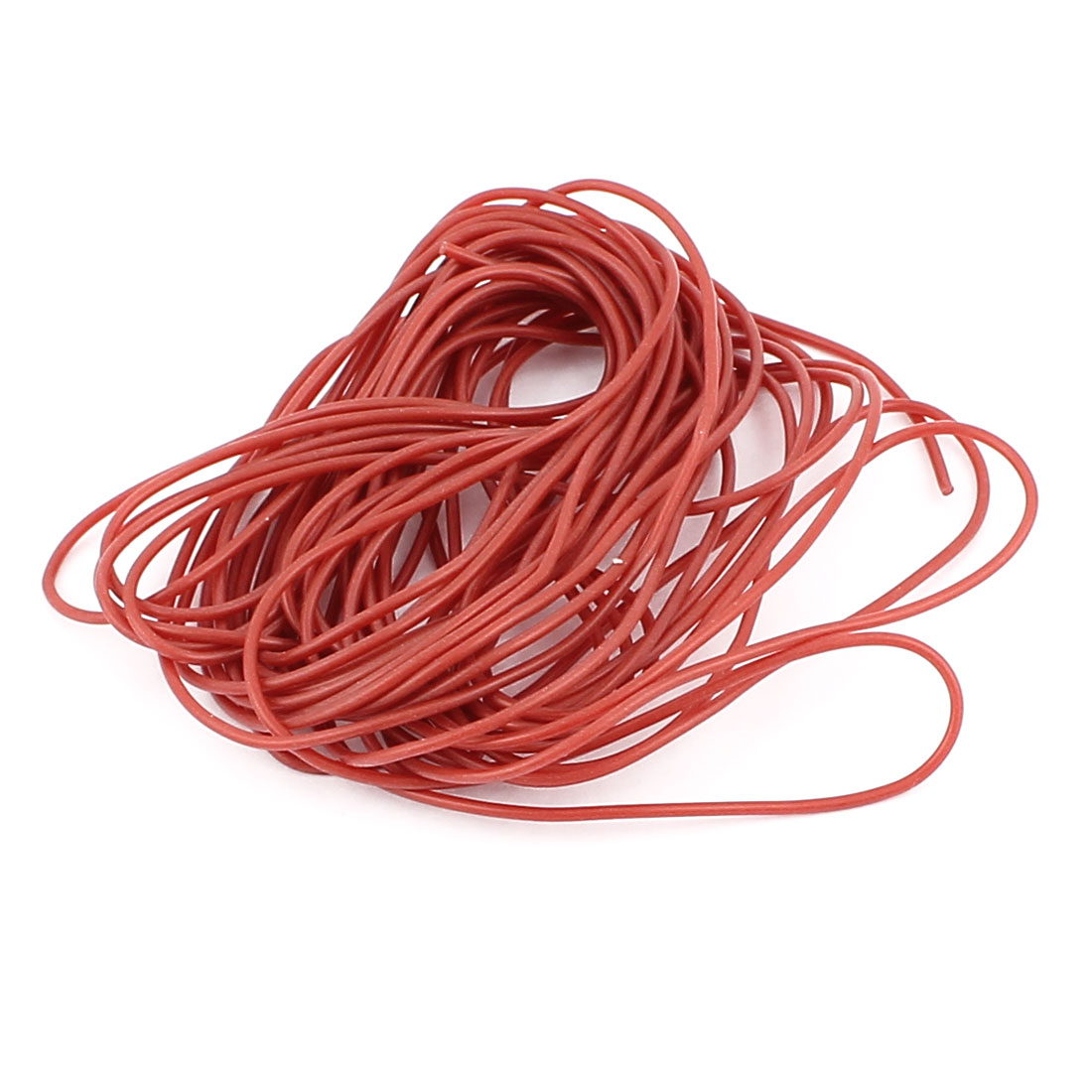5M 28AWG Electric Copper Core Flexible Silicone Wire Cable Brown
